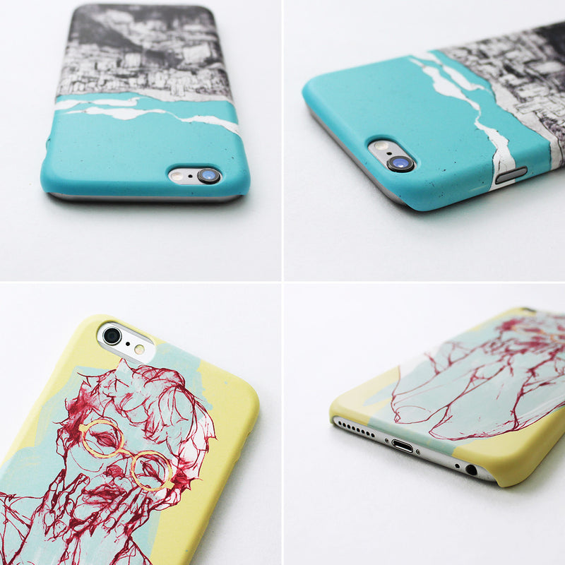 UMade iPhone case/iPhone手機殼-霧面硬殼-i6p/i6-凜小花Hana