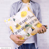 UMade Artist Throw Pillow★藝術家創作抱枕★Keep Moving (Swimming) Forward 泳敢向前 -Jenn.Y