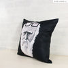UMade Artist Throw Pillow ★藝術家創作抱枕★ 捲菸達爾文 - H Stuff Room