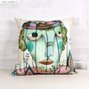 UMade Artist Throw Pillow★藝術家創作抱枕★ Thinking Prisone - 思想禁錮 - Lian An