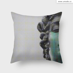 UMade Artist Throw Pillow-藝術家創作抱枕-LDN765- Frank Moth