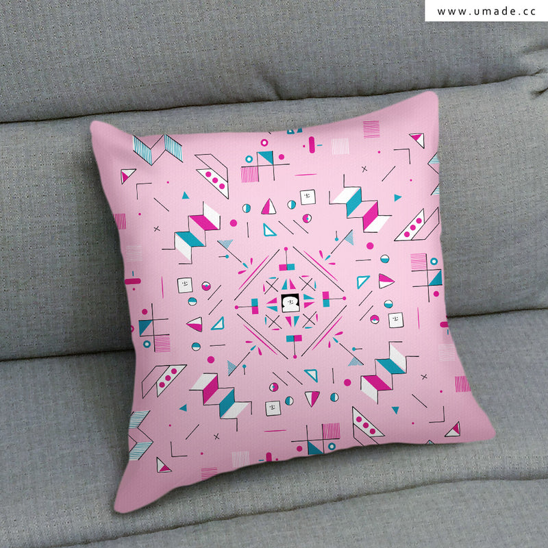 UMade Artist Throw Pillow ★藝術家創作抱枕★ FUN! - Fiona Chien