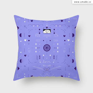 UMade Artist Throw Pillow ★藝術家創作抱枕★  LOVE! - Fiona Chien