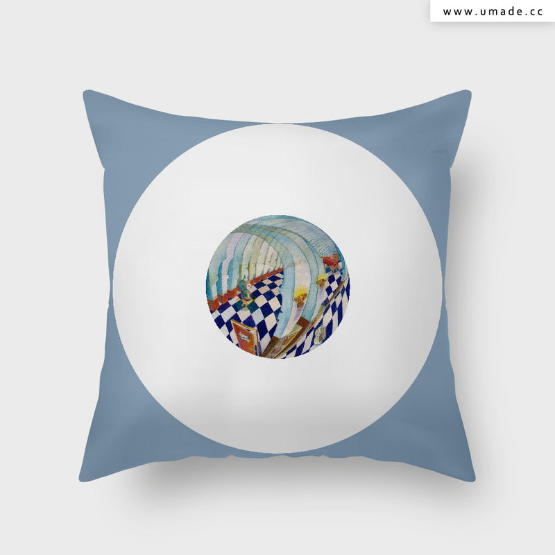 UMade Artist Throw Pillow★抱枕 午休枕 車枕★UMade Artist Throw Pillow★抱枕 午休枕 車枕★ 私藏的咖啡館 - Glory Cheng
