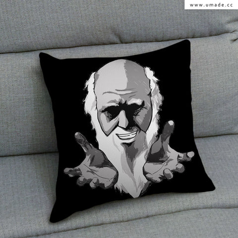 UMade Artist Throw Pillow ★藝術家創作抱枕★ 達爾文青三小之 I want you - H Stuff Room