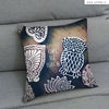 UMade Artist Throw Pillow★藝術家創作抱枕★Owl miss you, too. 嗚~忘我 -Jenn.Y