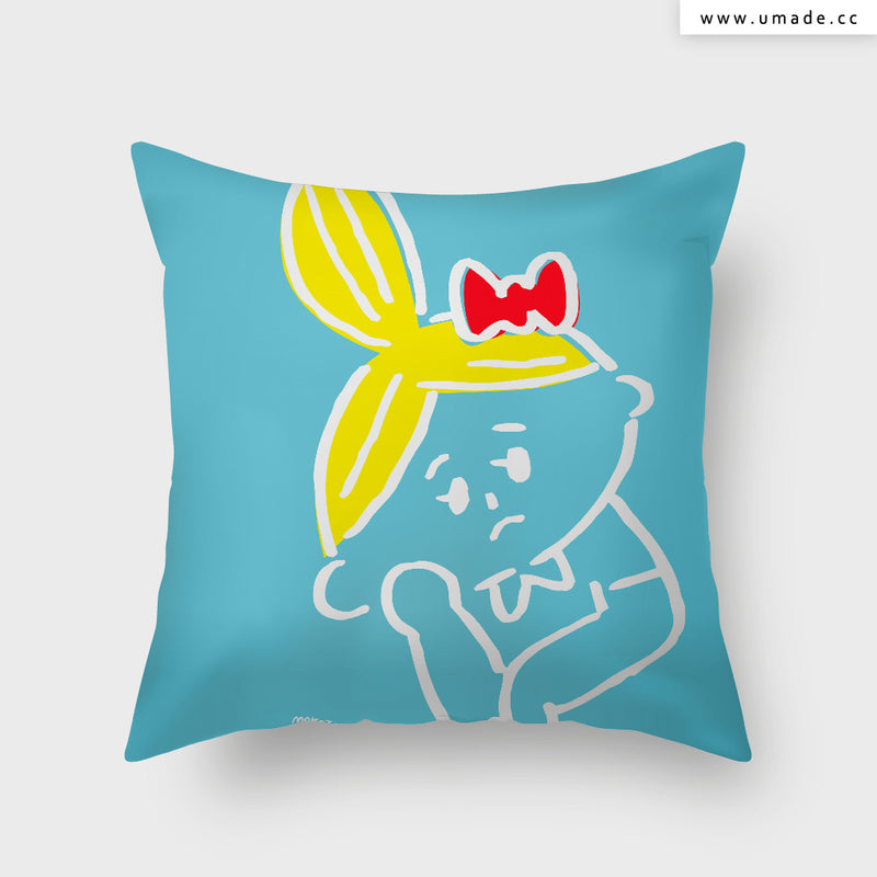 UMade Artist Throw Pillow ★藝術家創作抱枕★ - Makoto Hidaka (From Japan)