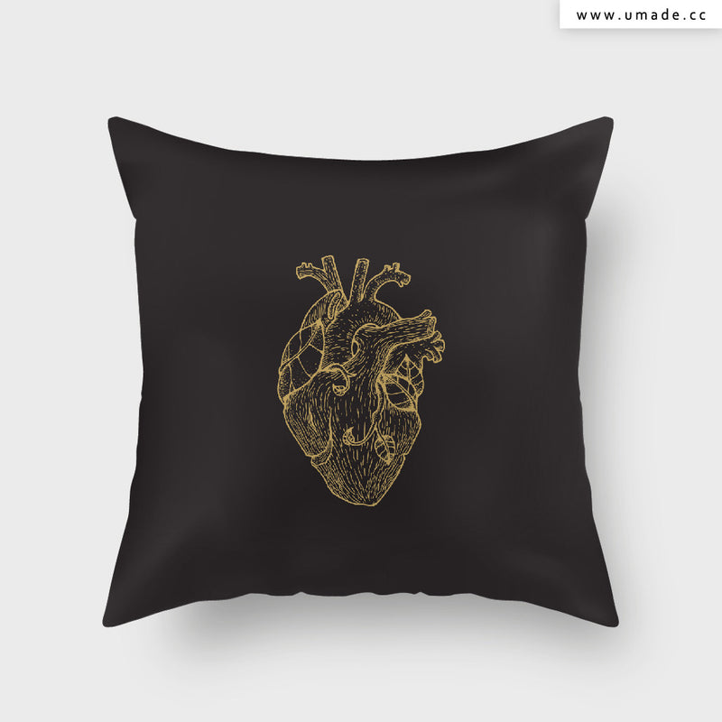 UMade Artist Throw Pillow-藝術家創作抱枕- Tree Heart-Seventeen