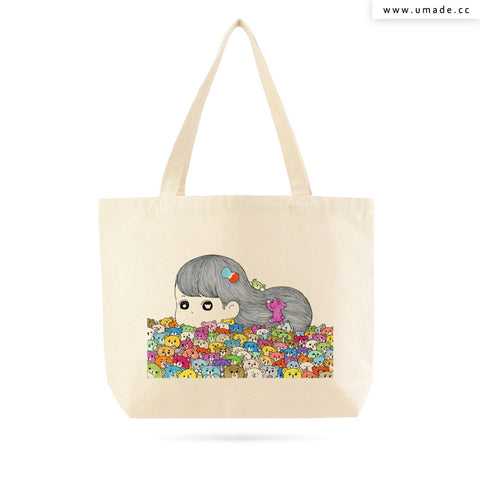 UMade Artist Large Tote Bag 藝術家創作帆布包  - AWAI