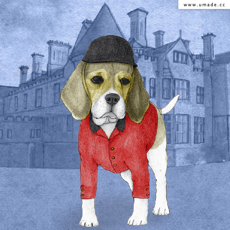 ★大托特★ Beagle With Beaulieau Palace - Barruf