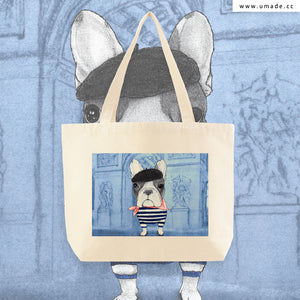 ★大托特★ French Bulldog With Arc de Triomphe (v2) - Barruf