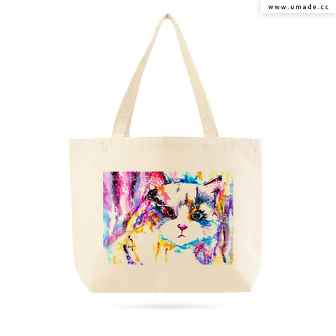 UMade Artist Large Tote Bag 藝術家創作帆布包  - Cub