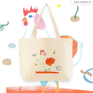 UMade Artist Large Tote Bag 藝術家創作帆布包  - Chichi Huang