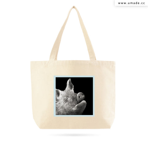 UMade Artist Large Tote Bag 藝術家創作帆布包  - Chi Ou