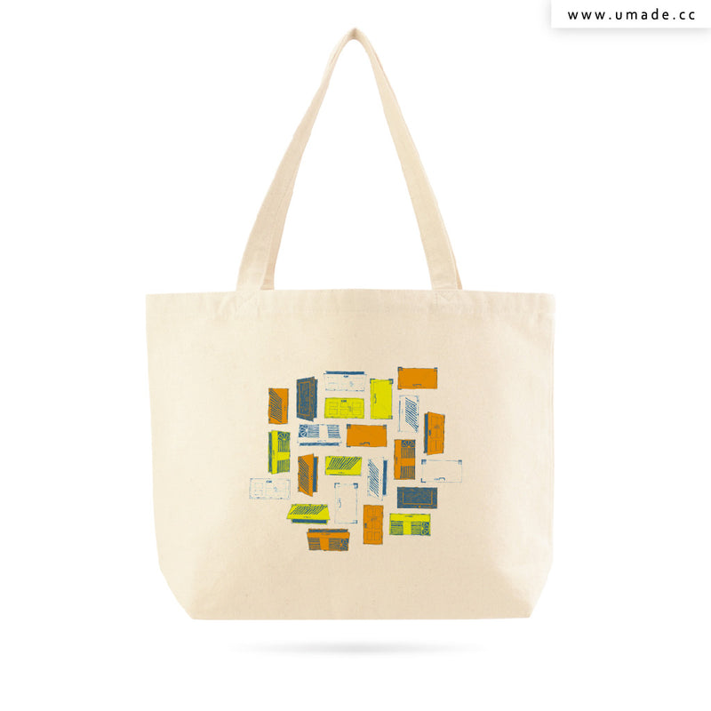 UMade Artist Large Tote Bag 藝術家創作帆布包-劉宜其 61Chi