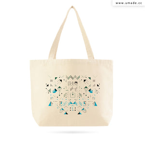 UMade Artist Large Tote Bag 藝術家創作帆布包  - Fiona Chien