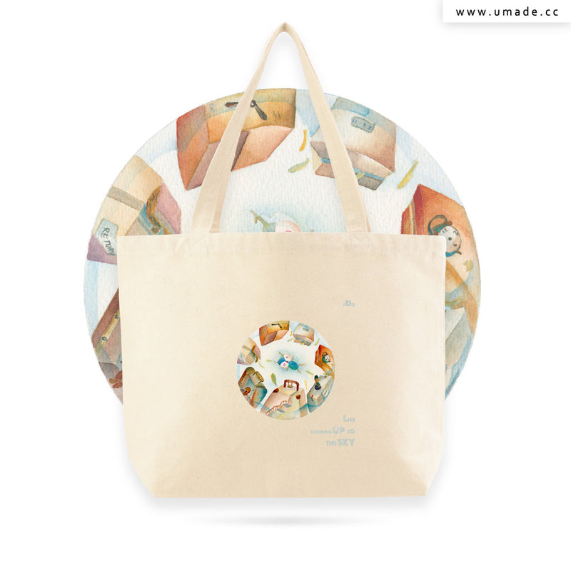 UMade Artist Large Tote Bag 藝術家創作帆布包  - Glory Cheng