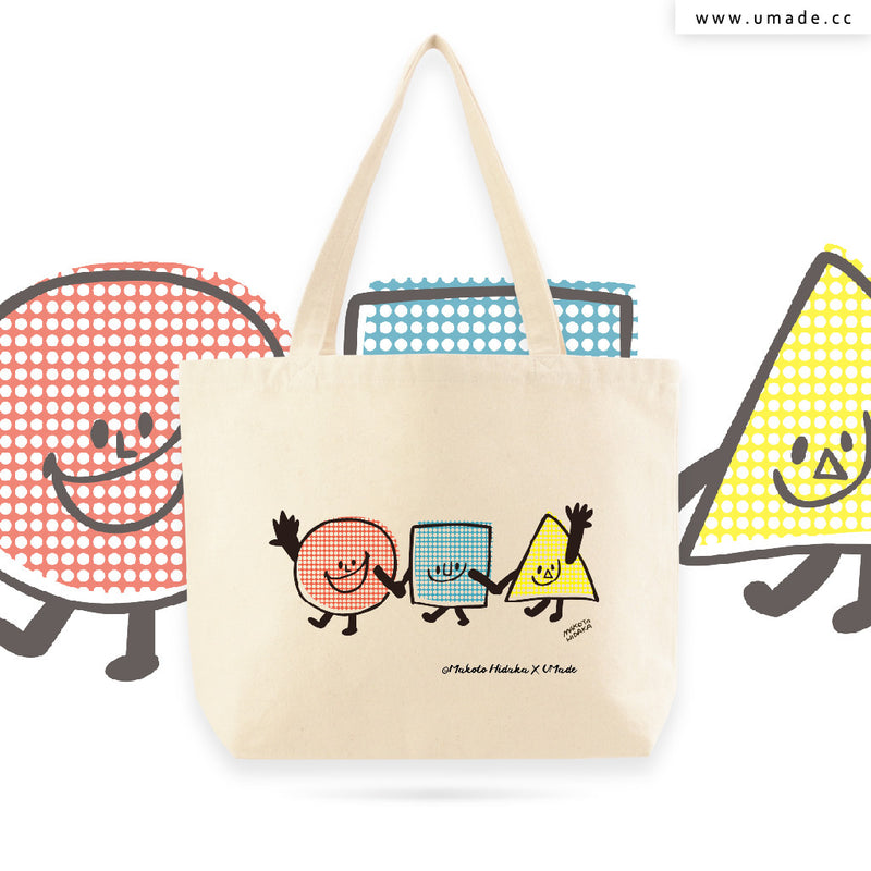 UMade Artist Large Tote Bag 藝術家創作帆布包  - Makoto Hidaka