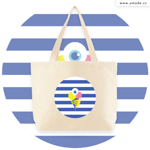 UMade Artist Large Tote Bag 藝術家創作帆布包  - MIKEI HUANG