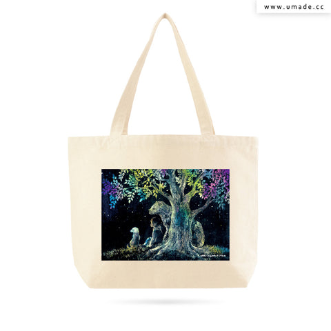 UMade Artist Large Tote Bag 藝術家創作帆布包  - Yoko Sueyoshi末吉陽子