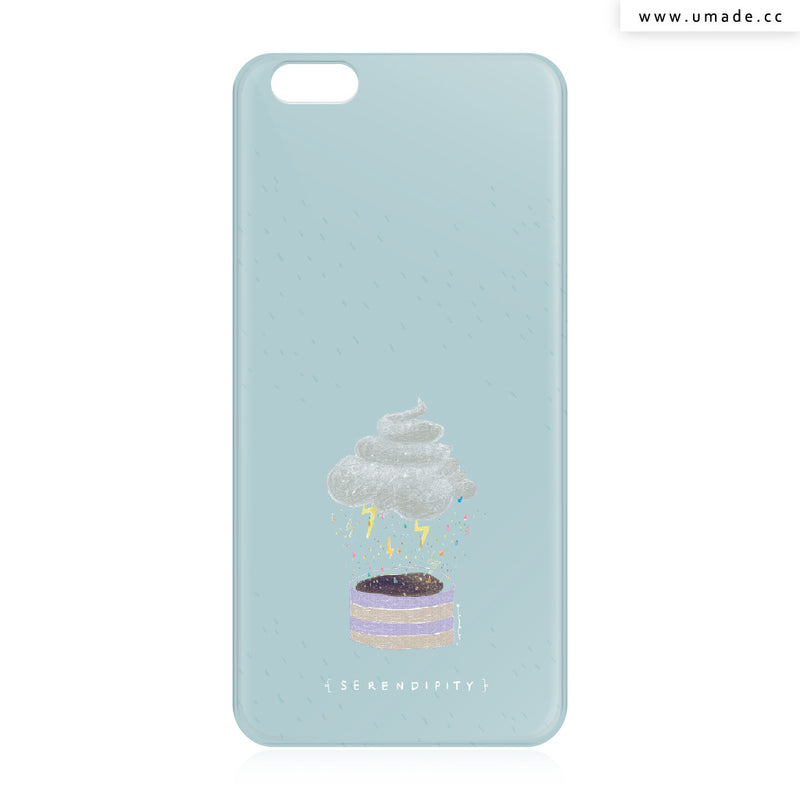 UMade iPhone case/iPhone手機殼-亮面硬殼-i6p/i6-太空灰色-Albee