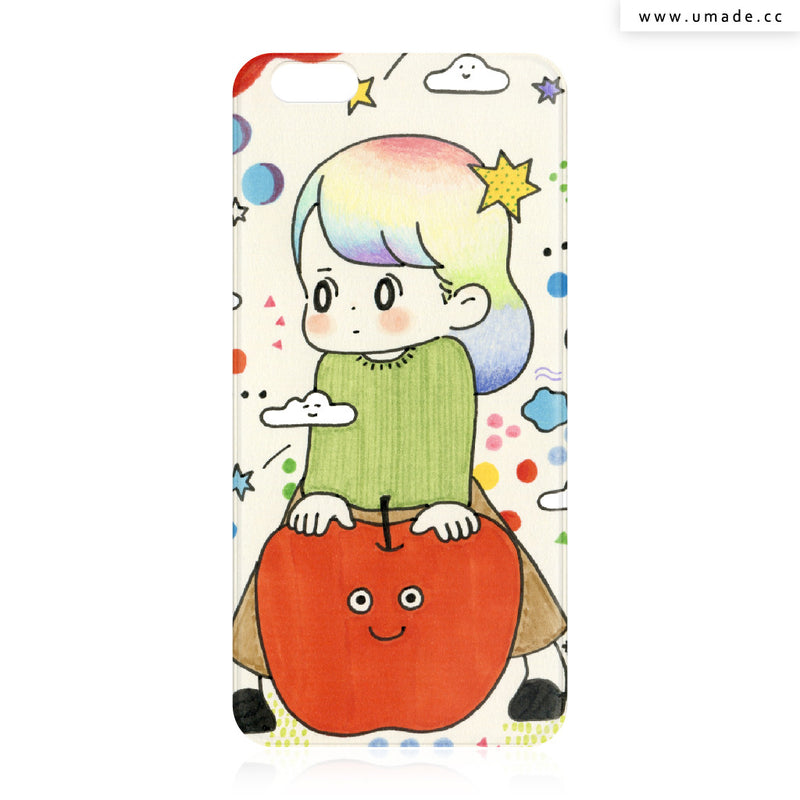 UMade iPhone case/iPhone手機殼-亮面背殼-i6p/i6-AWAI