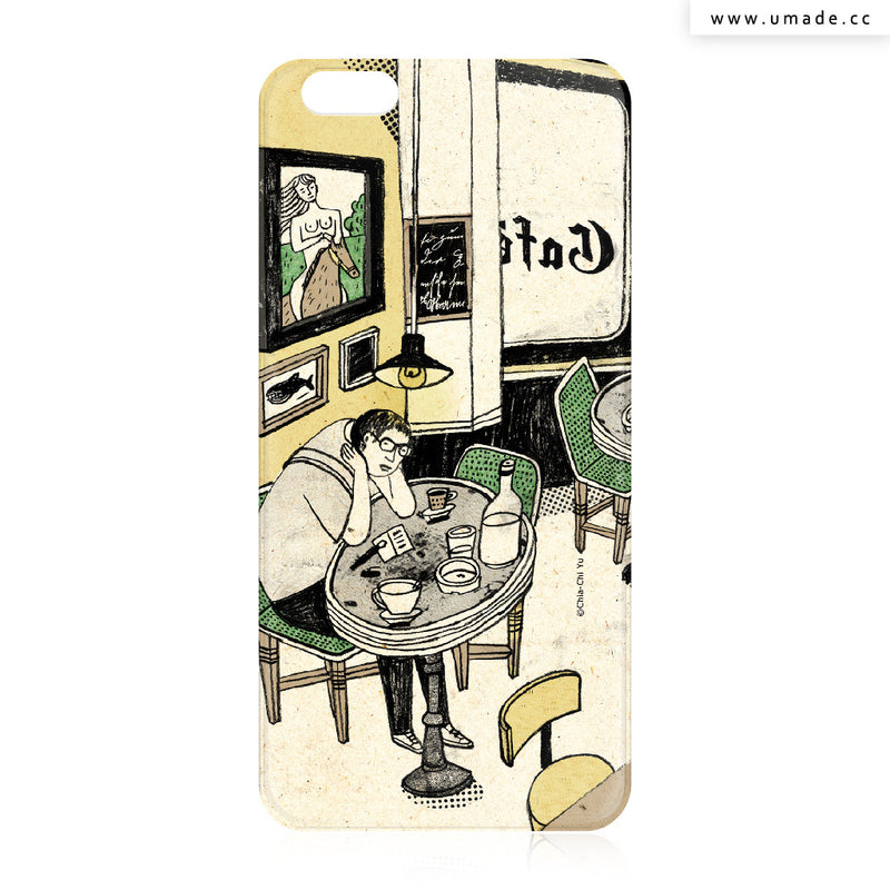 UMade iPhone case/iPhone手機殼-亮面背殼-i6p/i6-達姆Chia-Chi Yu