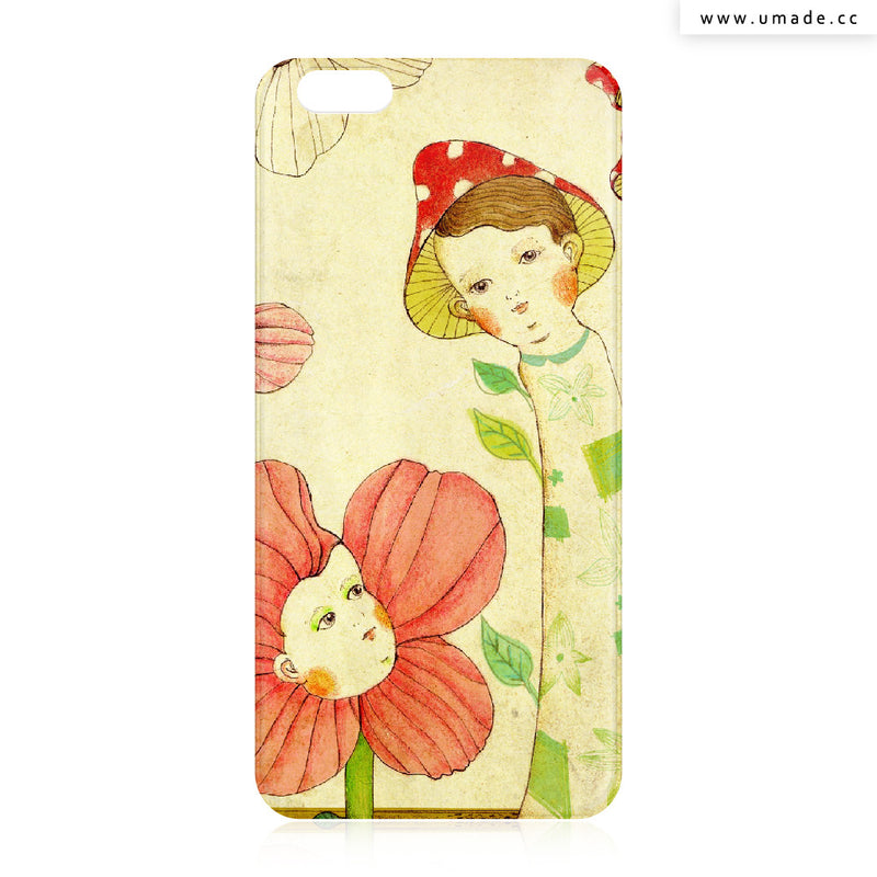 UMade iPhone case/iPhone手機殼-亮面背殼-i6p/i6-Chichi Huang