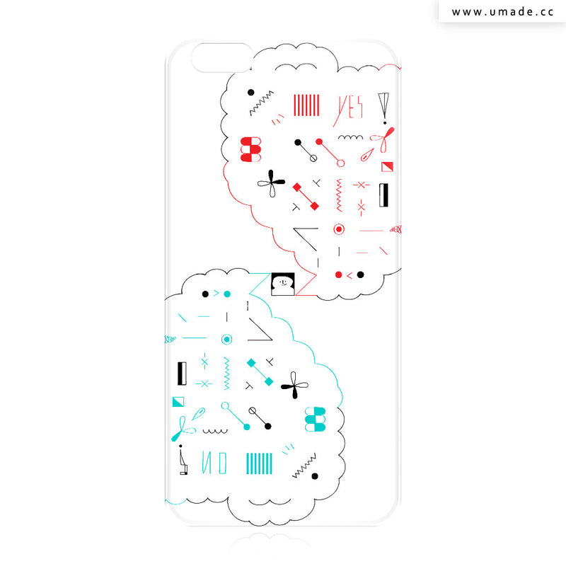 UMade iPhone case/iPhone手機殼-亮面背殼-i6p/i6-Fiona Chien