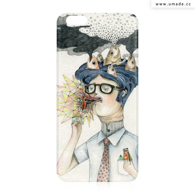 UMade iPhone case/iPhone手機殼-亮面背殼-i6p/i6-莉淇Lichi G.