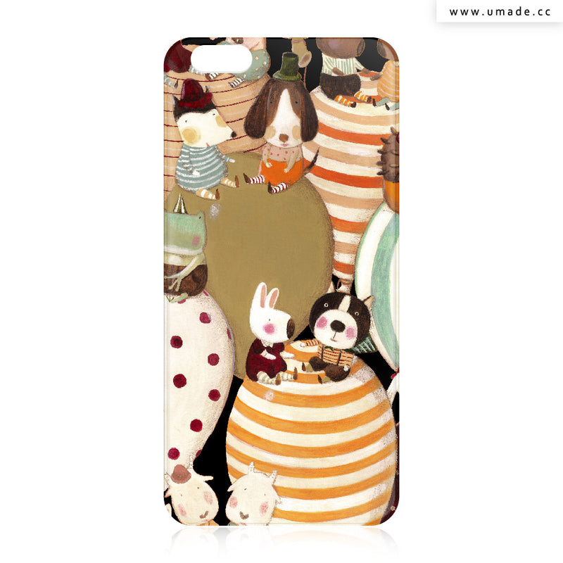 UMade iPhone case/iPhone手機殼-亮面背殼-i6p/i6-南君Nan Jun