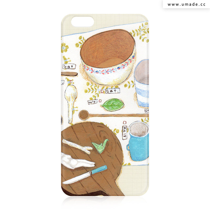 UMade iPhone case/iPhone手機殼-亮面背殼-i6p/i6-裴小馬Pony Pei