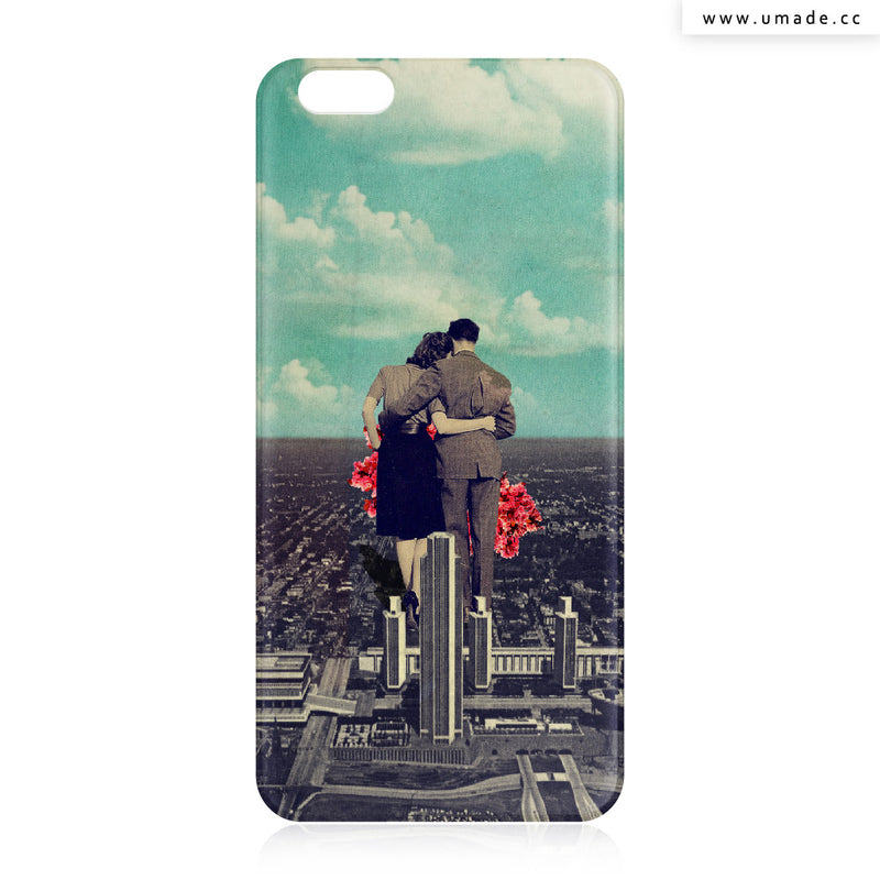 UMade iPhone case/iPhone手機殼-矽膠軟殼-鏡面硬殼-Together-Frank Moth