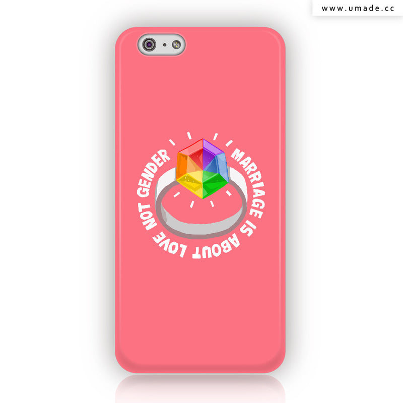 Umade ★iPhone Case★  彩虹戒指-blue
