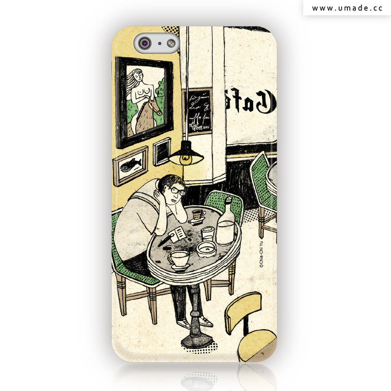 UMade iPhone case/iPhone手機殼-霧面硬殼-i6p/i6-達姆Chia-Chi Yu