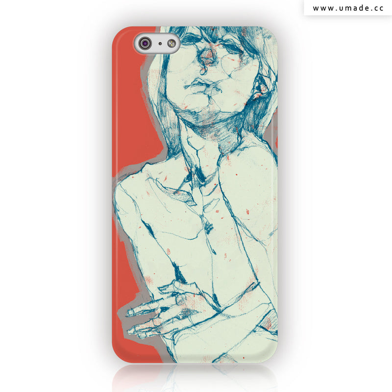 UMade iPhone case/iPhone手機殼-亮面硬殼-i6p/i6-61Chi