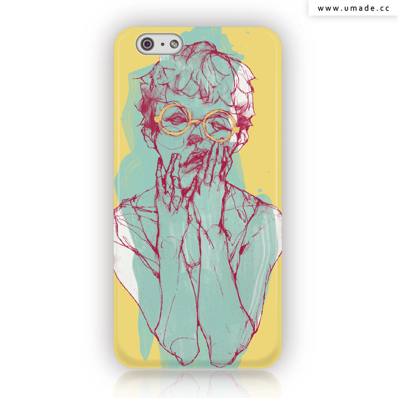 UMade iPhone case/iPhone手機殼-霧面硬殼-i6p/i6-61Chi
