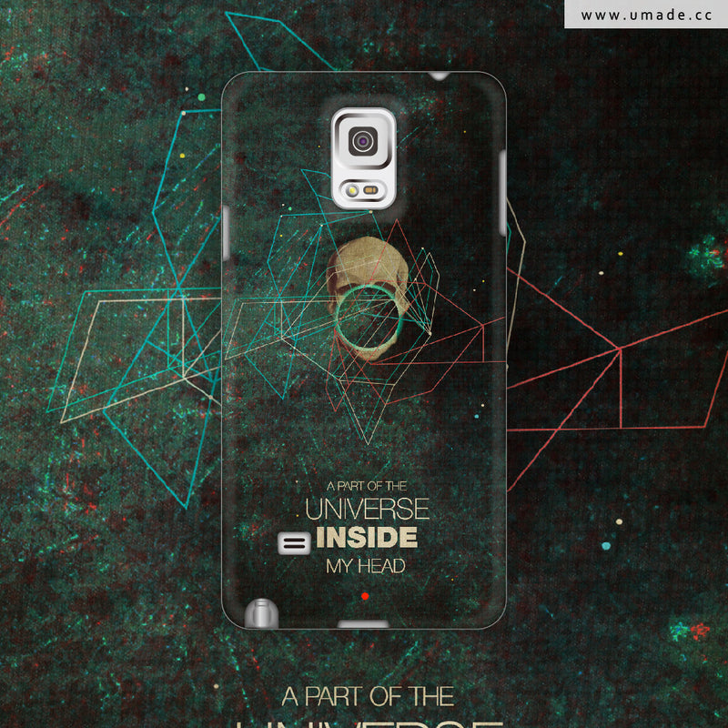 UMade-Android Case-A Part of The Universe Inside My Head - Frank Moth