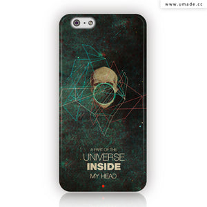 UMade iPhone case/iPhone手機殼-亮面硬殼-i6p/i6-Frank Moth