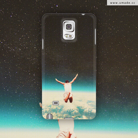 UMade-Android Case-Falling With A Hidden Smile- Frank Moth