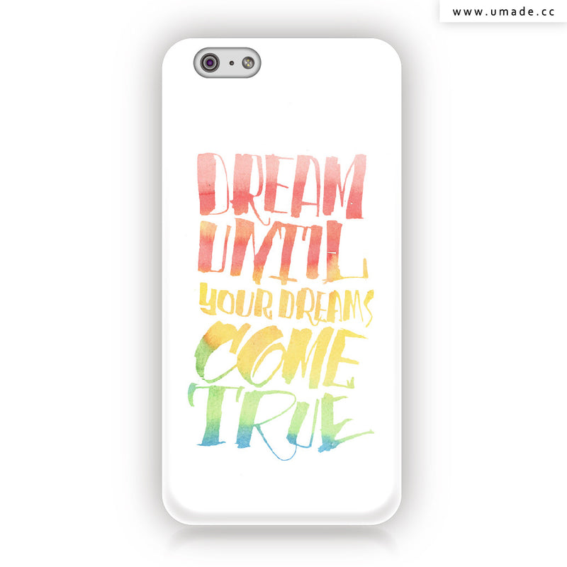 ★iPhone Case★  Dream On - Jibu Wang 王幾不