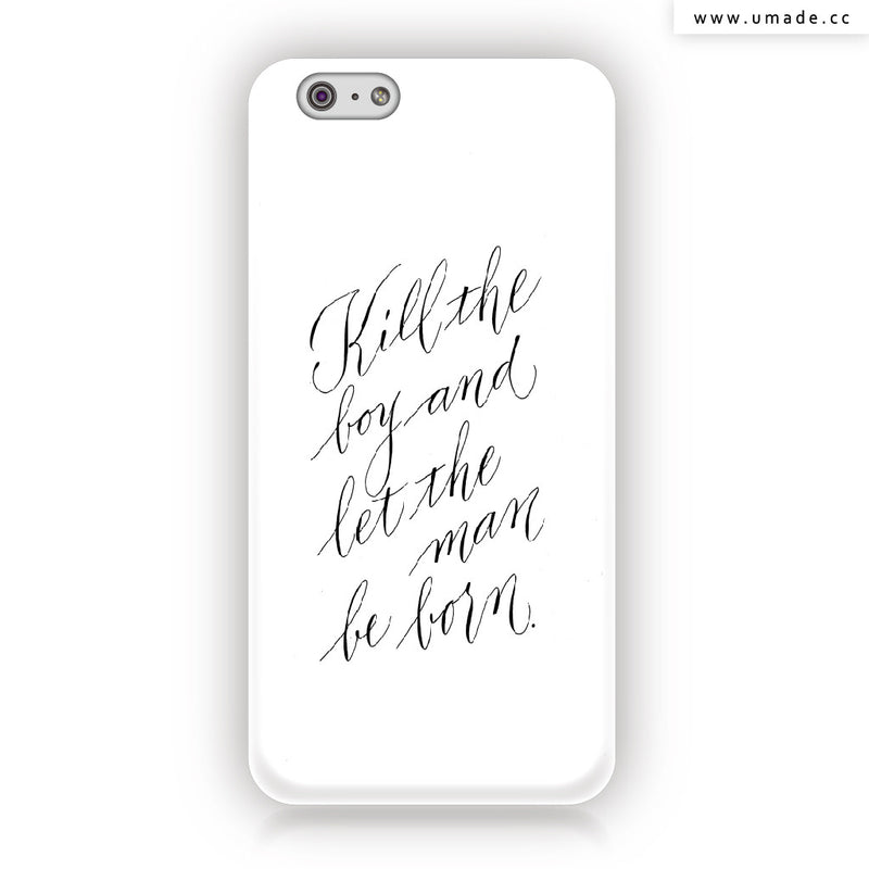 ★iPhone Case★ Be Man - Jibu Wang 王幾不