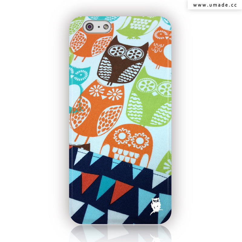 ★iPhone Case★ Busy Owl At Carft - Jenn.Y