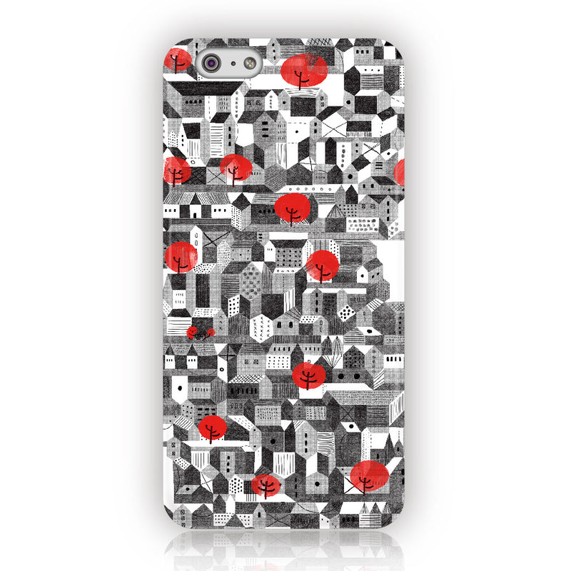 ★iPhone Case★ 憂鬱城市City- 廉恩Lian An