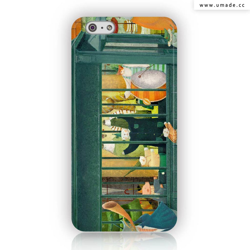 Umade★iPhone Case★地鐵- 南君Nan Jun
