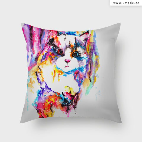 UMade Artist Throw Pillow ★藝術家創作抱枕★ 襪子 - Cub