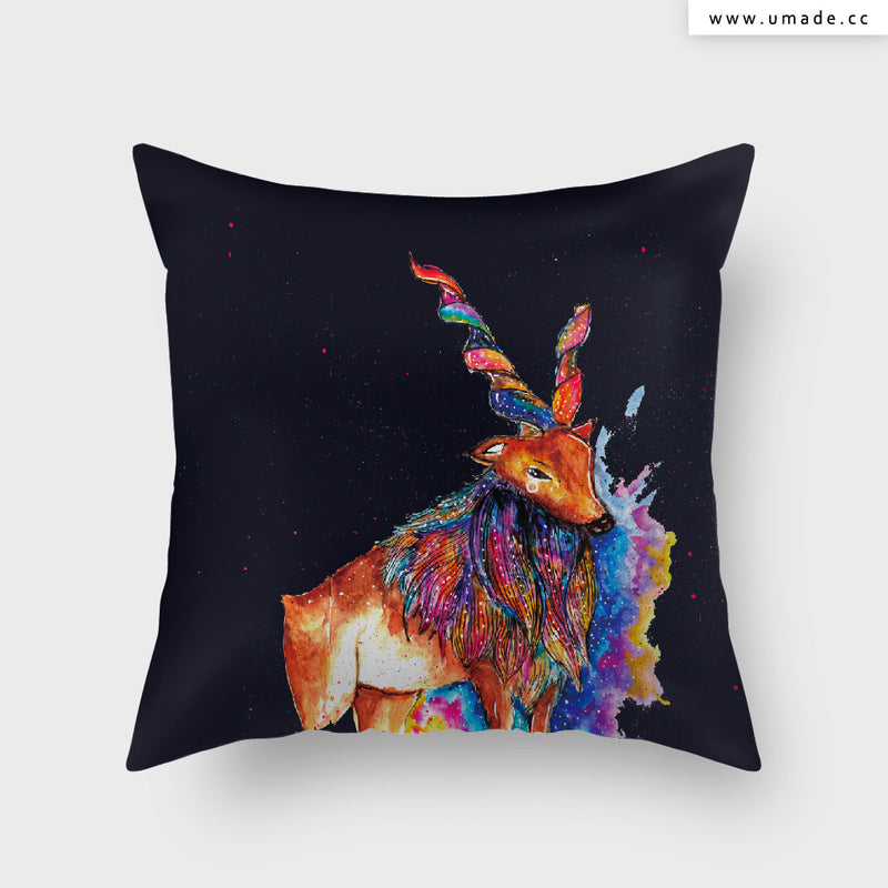 UMade Artist Throw Pillow ★藝術家創作抱枕★ DEER - Cub