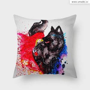 UMade Artist Throw Pillow ★藝術家創作抱枕★ 格林童話情人節 - Cub
