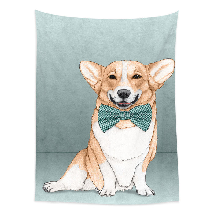 ★壁幔Wall Tapestry★  Corgi Dog