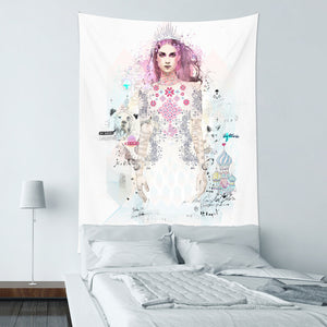 ★壁幔Wall Tapestry★Ice Princess - Raphaël Vicenzi